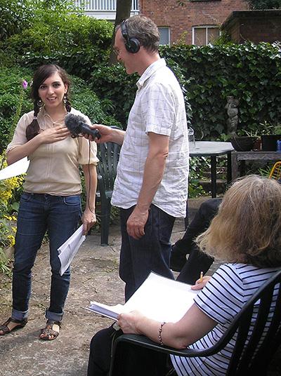 Garden recording